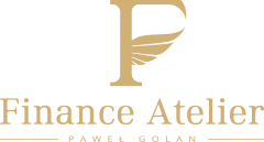 Finance Atelier Paweł Golan - logo. Doradztwo finansowe Lublin. Kredyty hipoteczne, pożyczki mieszkaniowe, kredyty dla firm. gotówki.